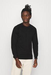 Denim Project - BASIC CREW - Sweatshirt - black - 0