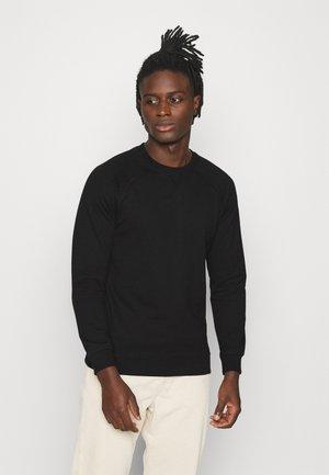 BASIC CREW - Sweater - black