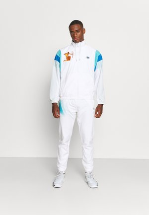 AREZZO TRACK SUIT - Tracksuit - white/blue