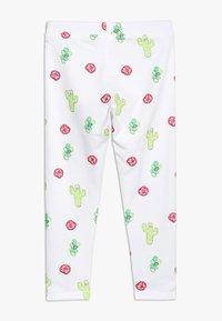 J.CREW - DESERT FLOWER CROPPED  - Leggings - Trousers - pink/green - 1