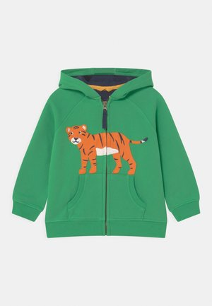 HAYLE HOODY TIGER UNISEX - Felpa aperta - glen green