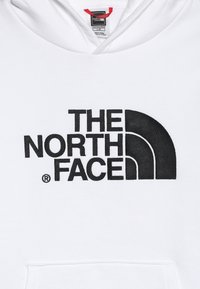 The North Face - DREW PEAK HOODIE UNISEX - Hoodie - white/black - 4