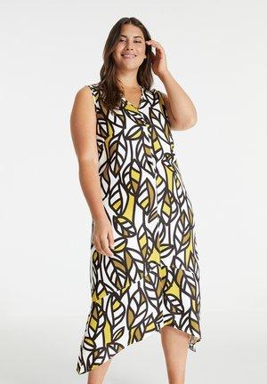 Day dress - citronella gemustert
