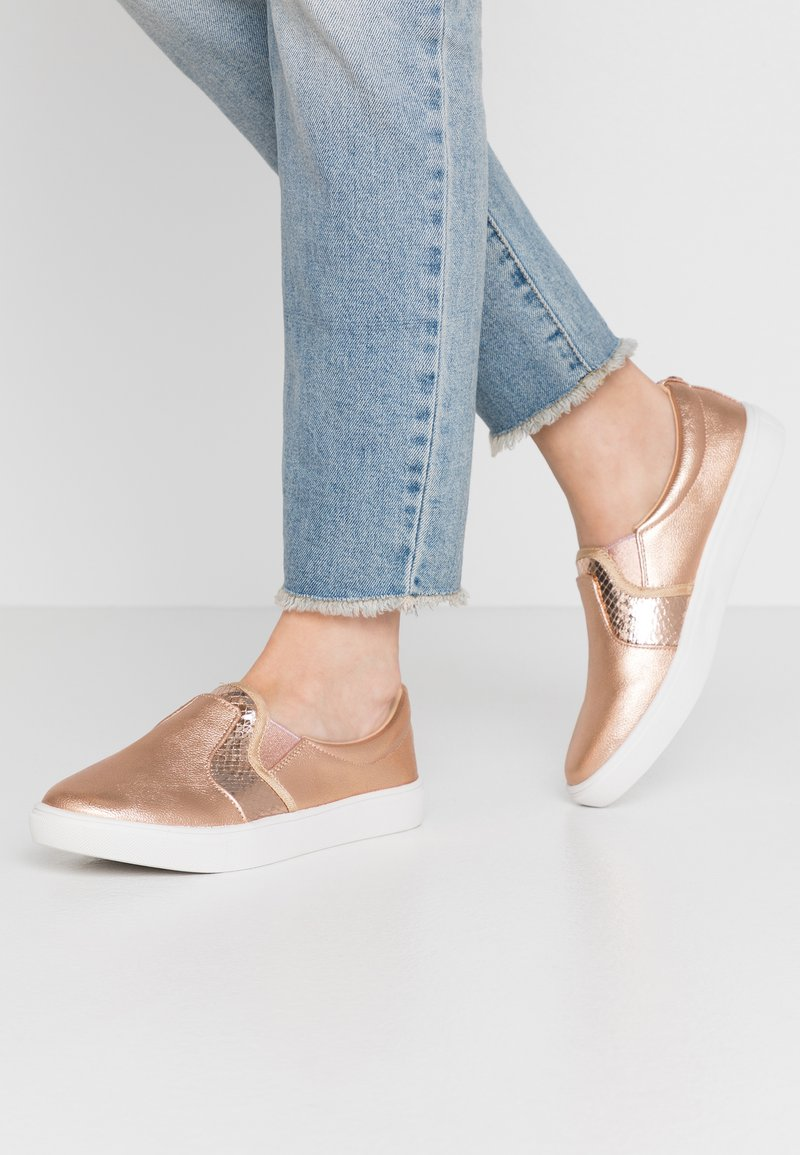 Head over Heels by Dune - EVEY - Slip-ons - rose gold