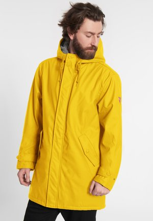 TREKHOLM - Halflange jas - yellow grey