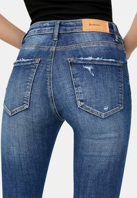 Stradivarius - Jeans Skinny Fit - dark blue - 3