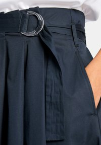 PETER HAHN - ROCK ROCK - A-line skirt - marine - 4