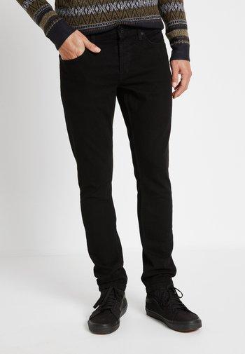 ONSLOOM BLACK - Jeans slim fit - black denim