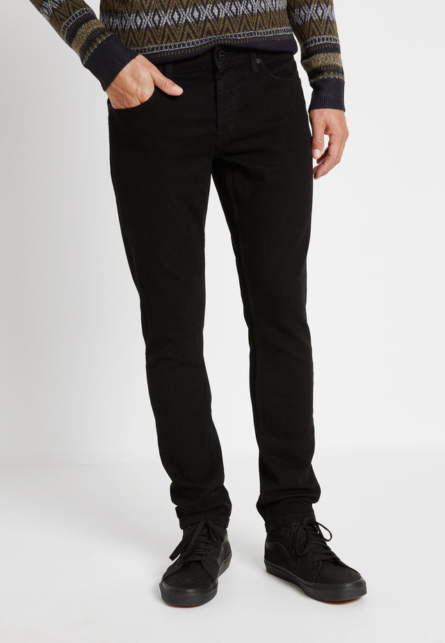 ONSLOOM BLACK - Jeansy Slim Fit - black denim