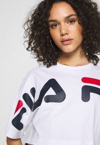 Fila - BARR - T-shirt z nadrukiem - bright white - 4