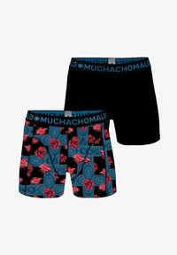 MUCHACHOMALO - 2 PACK - Pants - black/blue - 6
