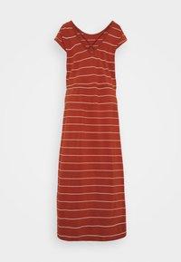 ONLY Tall - ONLMAY LIFE DRESS - Maxi dress - arabian spice/cloud dancer - 1