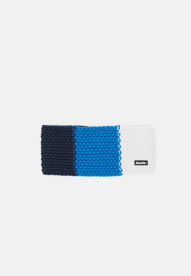 JAMIES FLAG - Ørevarmere - darkcobalt/bluemelange/white