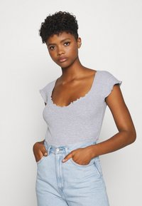 Missguided - 2 PACK - Body - black/grey - 1