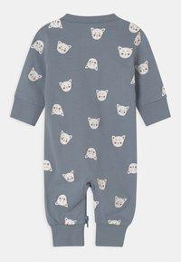 Lindex - CAT FACES UNISEX - Pyjamas - blue - 1