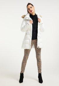 faina - Winter coat - wollweiss - 1