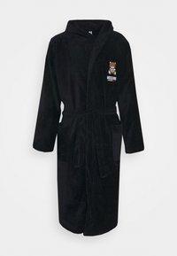 Moschino Underwear - BATHROBE - Badekåpe - black - 5