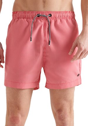 SD STUDIOS - Swimming shorts - rouge red stripe