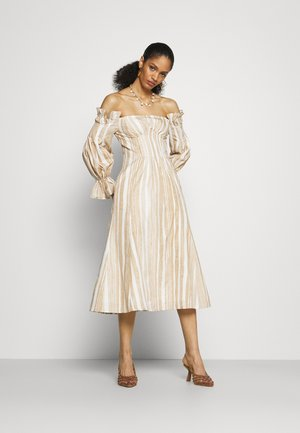 IDA DRESS - Denní šaty - off-white