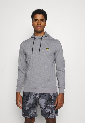SUPERWICK MIDLAYER - Mikina s kapucí - mid grey