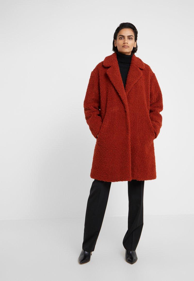HUGO - MOLGA - Classic coat - rust/copper