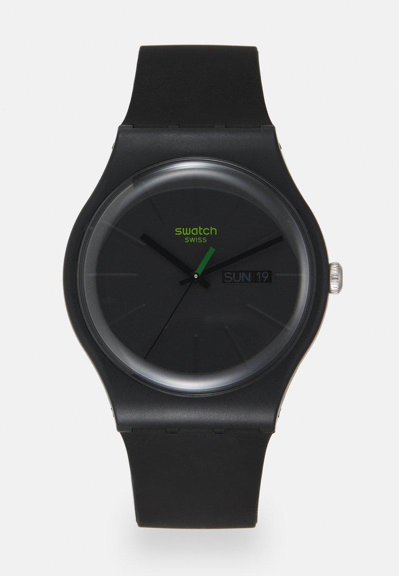 Swatch - NEUZEIT - Watch - solid black