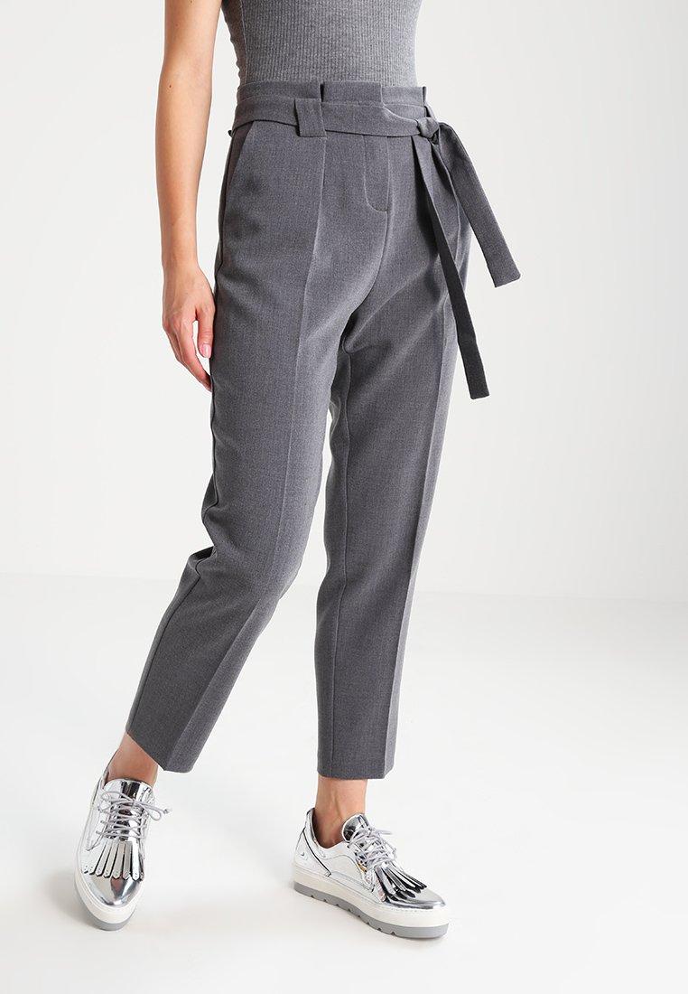KIOMI - Trousers - grey melange