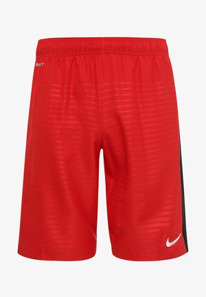 Sports shorts - university red / black / football white