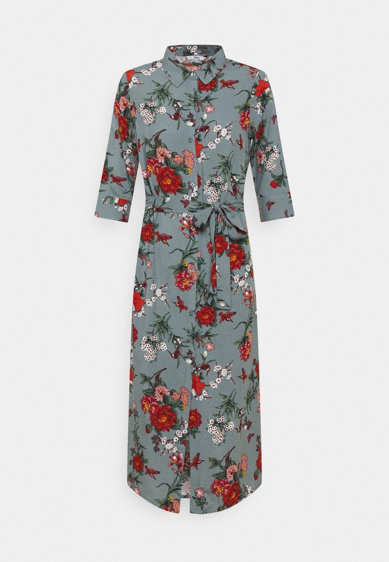 ONLY Petite - ONLNOVA LIFE DRESS - Maxi dress - balsam green/glory garden