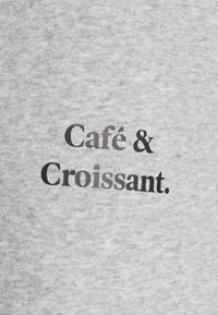 Les Petits Basics - JOGGING PANTS CAFE CROISSANT UNISEX - Tracksuit bottoms - grey/black - 2