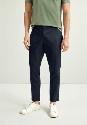 MOTIONFLEX - Chino kalhoty - dark blue