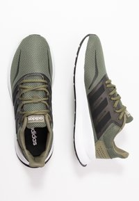 adidas Performance - RUNFALCON - Neutral running shoes - raw khaki/core black/footwear white - 1