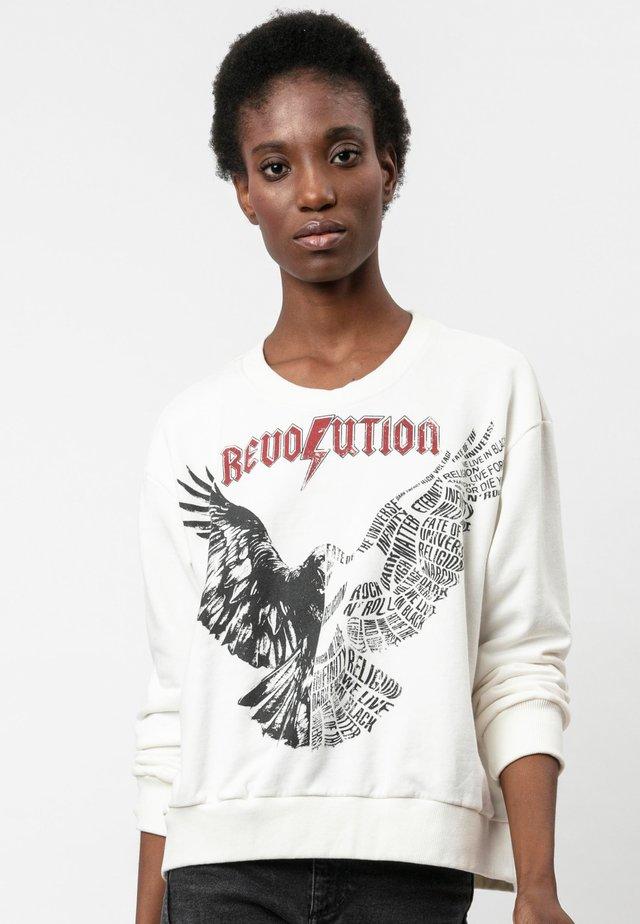 INCONCEIVABLE  - Sweatshirt - raven white