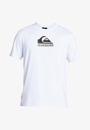 QUIKSILVER™ SOLID STREAK - KURZÄRMLIGES SURF-T-SHIRT MIT UPF 50  - Surfshirt - white