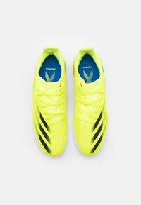 adidas Performance - X GHOSTED.3 IN UNISEX - Indoor football boots - solar yellow/core black/royal blue - 3