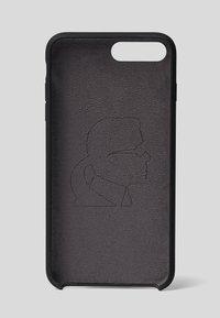 KARL LAGERFELD - IKONIK  - Phone case - black - 1