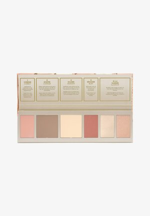 ALL-IN-ONE FLAWLESS FACE PALETTE - Face palette - 03. Foncé