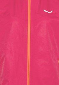 Salewa - AQUA - Hardshell jacket - rose red - 2