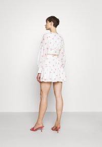 Glamorous - PIPING SKIRT - Minihame - rose broderie - 2