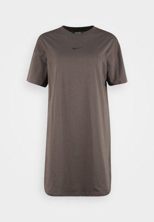 TEE DRESS - Robe en jersey - cave stone
