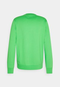 Calvin Klein Jeans - LOGO CREW NECK UNISEX - Sweatshirt - acid green - 1