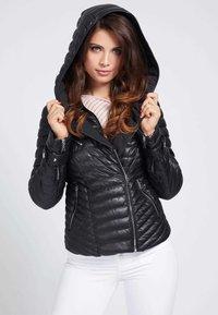 Guess - Faux leather jacket - schwarz - 3