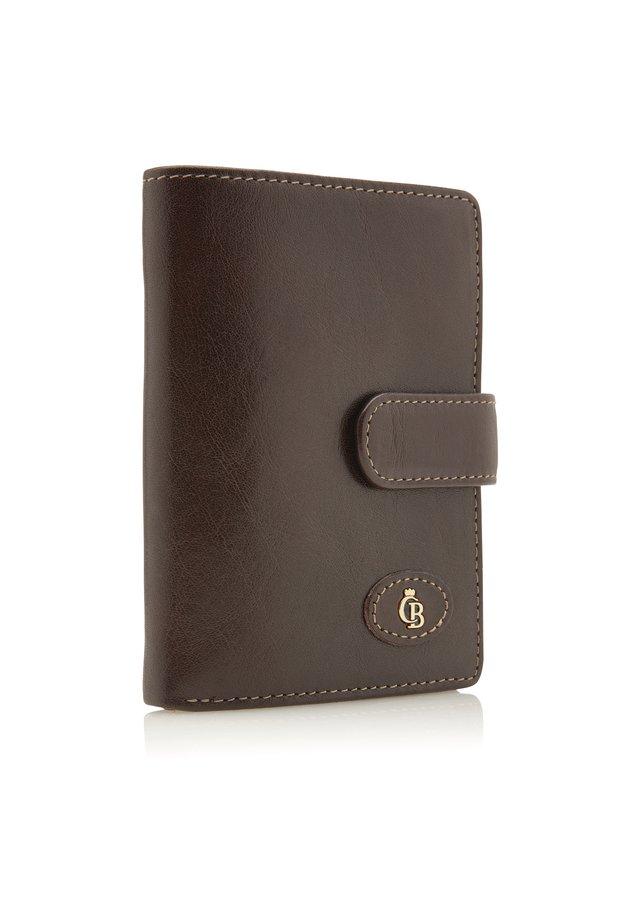 MIT REISSVERSCHLUSS RFID - Wallet - mocca