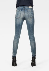 G-Star - Jeans Skinny Fit - antic faded lapo blue destroyed - 1