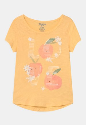 MID TIER GRAPHIC - Print T-shirt - yellow