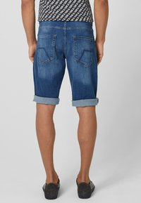 Q/S designed by - Denim shorts - stone blue denim - 2
