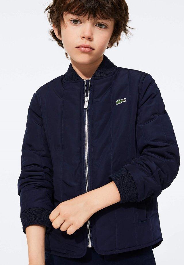 Light jacket - bleu marine / rouge