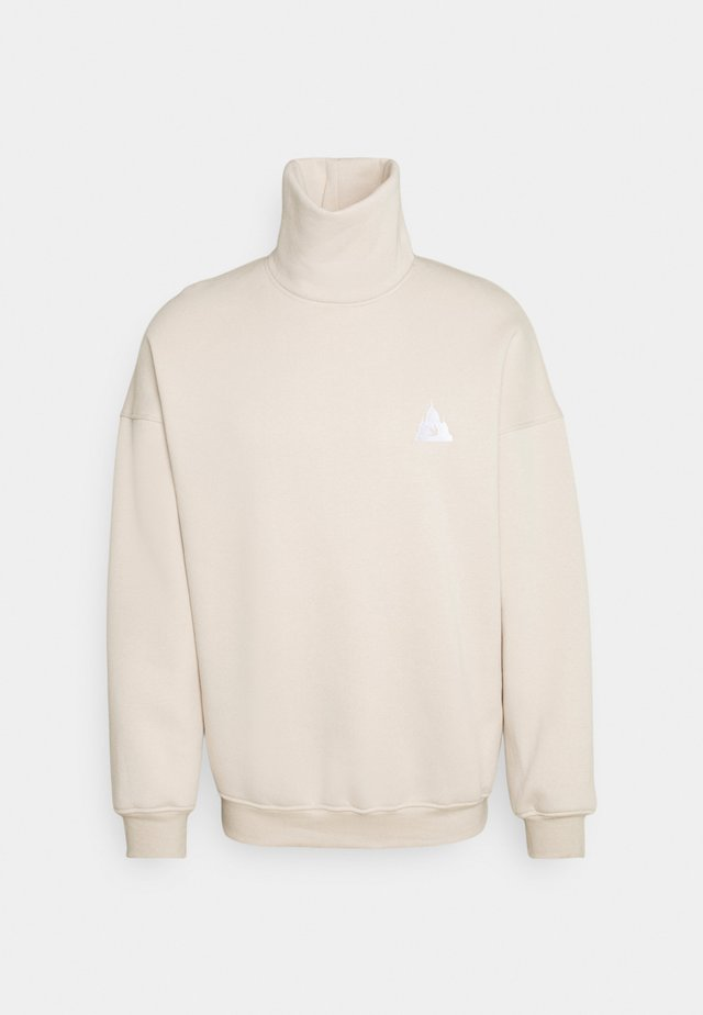 LOGO  - Sweatshirt - cream