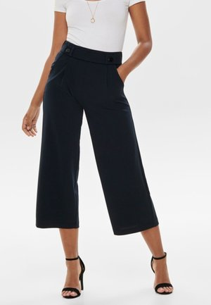 JRS NOOS - Trousers - mottled dark blue