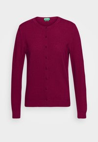 Benetton - Cardigan - burgandy - 3